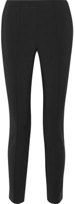Jason Wu - Stretch Cotton-blend Slim-leg Pants - Black $695 thestylecure.com