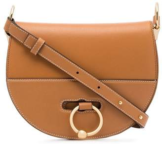 J.W.Anderson tan Latch leather cross body bag