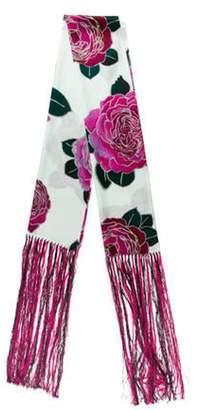 Emporio Armani Silk Printed Scarf w/ Tags Silk Printed Scarf w/ Tags