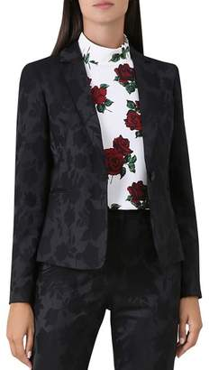 Hobbs London Tala Floral Jacquard Blazer