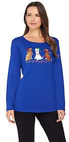 Factory Quacker Holiday Pets Long SleeveT-Shirt