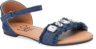 Olivia Miller Chantilly Toddler & Youth Sandal - Girl's
