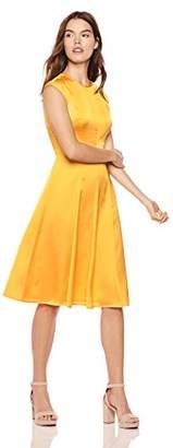 Wild Meadow Women's Sleeveless Tea Length Dress S