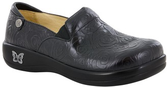 Alegria Leather Slip On Shoes - Keli Pro