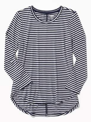Old Navy Striped Tulip-Hem Tunic Tee for Girls