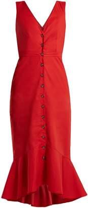 SALONI Zoey stretch-cotton dress $458 thestylecure.com