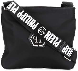 Philipp Plein logo strap shoulder bag