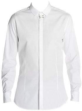 Neil Barrett Men's Formal Pin Shirt