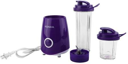 Walmart KONKA Mini Portable Electric Juicer Multifunctional Household Fruit Juice Machine Blender Smoothie Milkshake Maker KJ-JF308