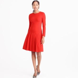 Petite pleated ponte dress $128 thestylecure.com