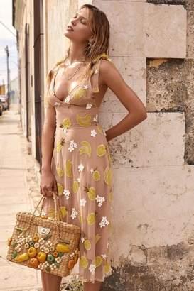 For Love & Lemons Fruitpunch Midi Dress