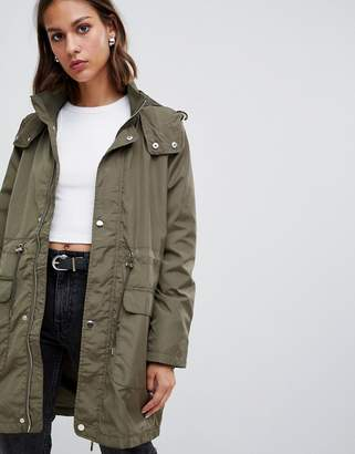 Minimum relaxed military coat