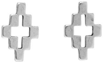 Marcelo Burlon County of Milan Silver Cross Earrings