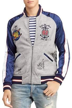 Polo Ralph Lauren Mixed-Media Bomber Jacket