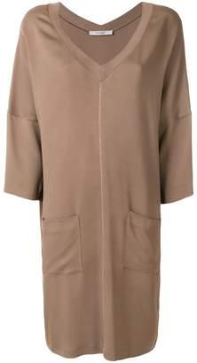 D'aniello La Fileria For cropped sleeve dress
