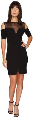 Nicole Miller Cold Shoulder Party Dress Women's Dress