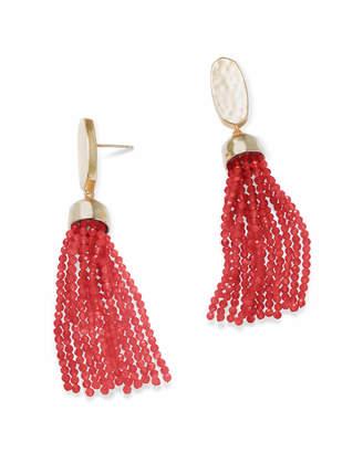Kendra Scott Marin Gold Statement Earrings