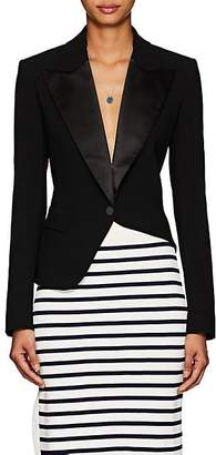 Altuzarra Women's Lazio Asymmetric One-Button Blazer - Black