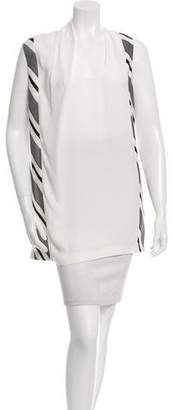 CNC Costume National Cutout Back Sleeveless Top w/ Tags