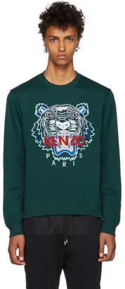 Kenzo Green Classic Sweatshirt