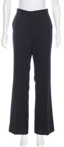 Christian Dior Wool Wide-Leg Pants