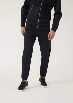 Emporio Armani Lightweight Scuba Fabric Joggers