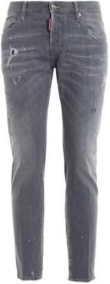 DSQUARED2 Skater Graffiti Wash Jeans