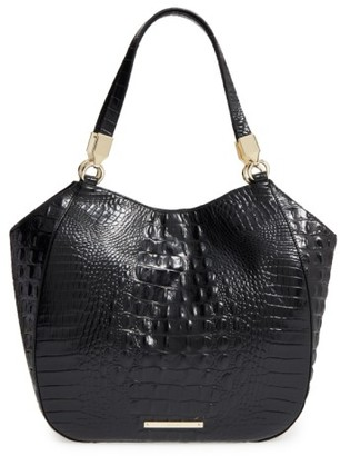 Brahmin Melbourne Marianna Leather Tote - Black $295 thestylecure.com