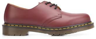 Dr. Martens stitch detailed Derby shoes