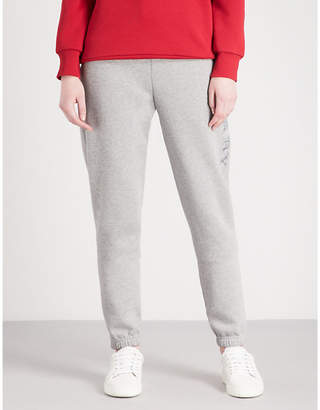 Burberry Francoli tapered mid-rise jersey jogging bottoms