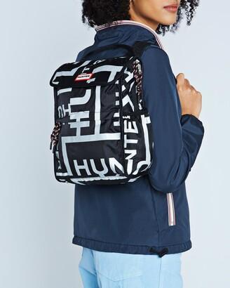 Hunter Packable Backpack Sonic Logo