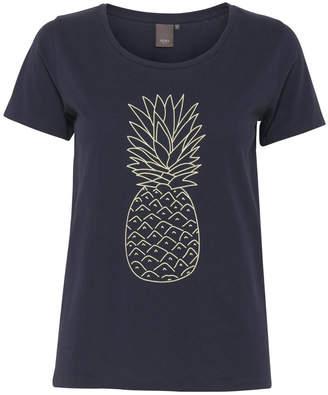 Ichi Navy Pineapple T-Shirt