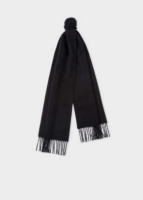 Paul Smith Black Cashmere Scarf