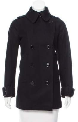 Burberry Virgin Wool Double-Breasted Coat