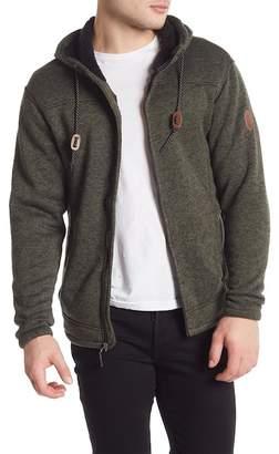 Free Country Faux Fur Lined Mountain Fleece Jacket