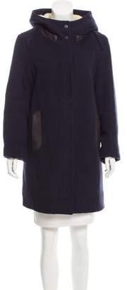 Vince Short Wool Coat