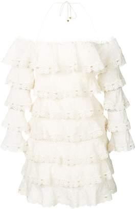 Zimmermann broderie anglaise dress