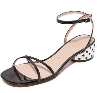 Marc Jacobs Sybil Ankle Strap City Sandals $295 thestylecure.com