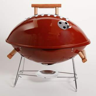 Gibson Football BBQ Portable Charcoal Grill