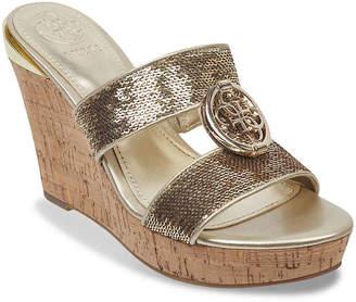 GUESS Beanca Wedge Sandal - Women's