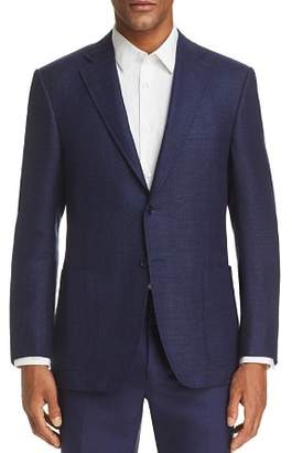 Canali Sienna Soft Two-Tone Classic Fit Solid Sportcoat
