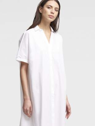 DKNY Poplin Shirtdress
