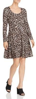 Rob-ert Robert Michaels Leopard Print Dress