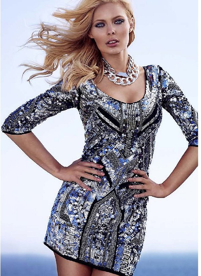 GUESS by Marciano Rudy Embellished Dress