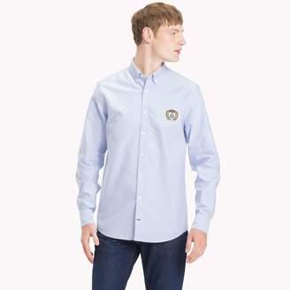 Tommy Hilfiger Cotton Oxford Crest Badge Shirt