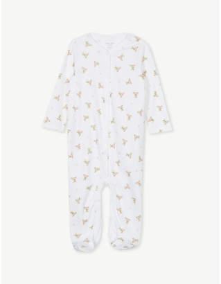 Ralph Lauren Polo bear cotton babygrow 3-9 months