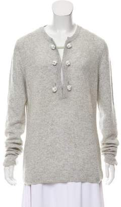 Lutz & Patmos Cashmere Long Sleeve Sweater