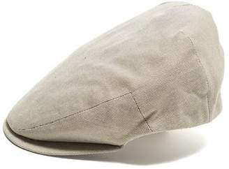 BEIGE Lock and Co Hatters Lock and Co Cotton Drifter Flat Cap In