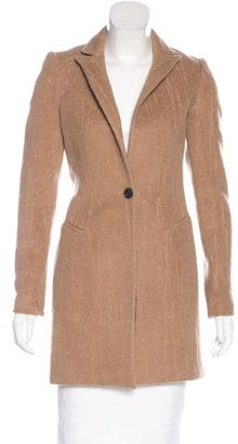 AllSaints Virgin Wool & Camel Hair-Blend Coat $175 thestylecure.com