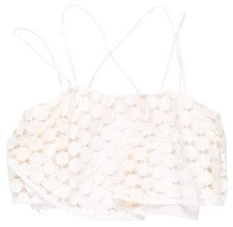 Nicholas Embroidered Crop Top w/ Tags